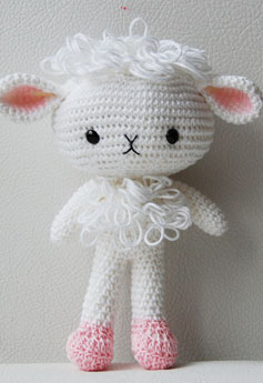 Amigurumi Spanky the Cat