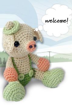 CROCHET AMIGURUMI PIG PATTERN FREE CROCHET PATTERNS