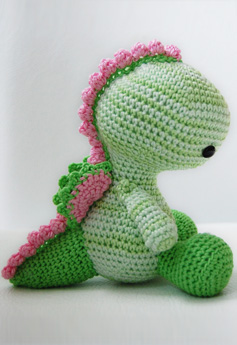Free Amigurumi Patterns: Knit Dragon Pattern