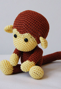 Amigurumi Free Pattern Crochet : Pics Photos - Cheeky Monkey Amigurumi Crochet Pattern