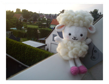 Cloudy the Lamb by Carolin