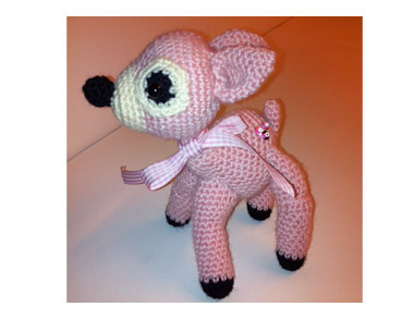 Amigurumi Fawn by Christine