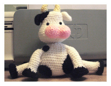 Amigurumi Cow by Marie