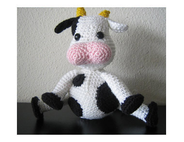 Amigurumi Cow by Jacqueline