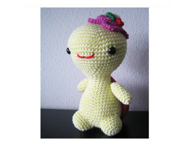 Amigurumi Miss Dragon by Jacqueline