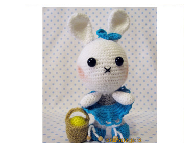 Amigurumi Easter Bunny by Lidka