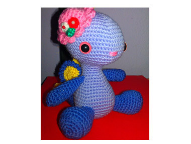 Amigurumi Miss Dragon by Liliana