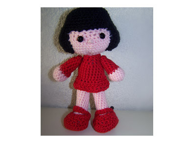 Amigurumi Doll by Nancy