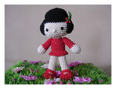 Amigurumi Doll by Babsie