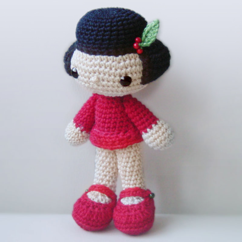 Amigurumi Doll How To : Pepika amigurumi doll pattern vicky girl