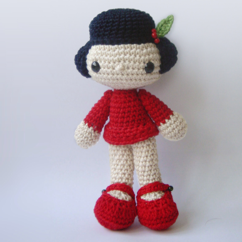 Amigurumi Human Doll Free Pattern : Amigurumi Doll Cake Ideas and Designs