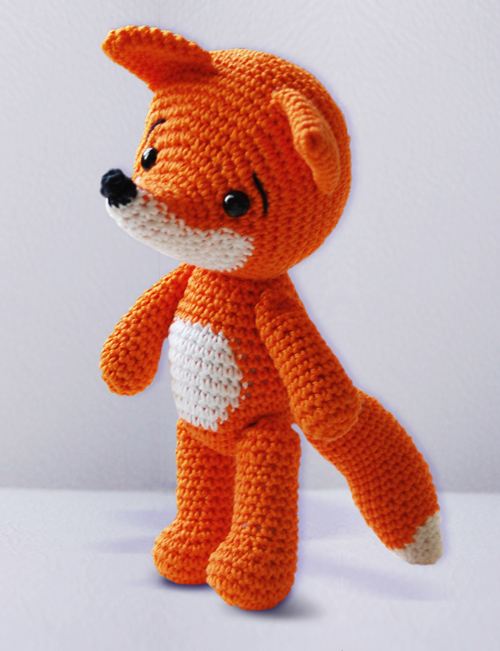 Amigurumi Strawberry Girl Free Pattern : Pepika - Amigurumi Fox Pattern