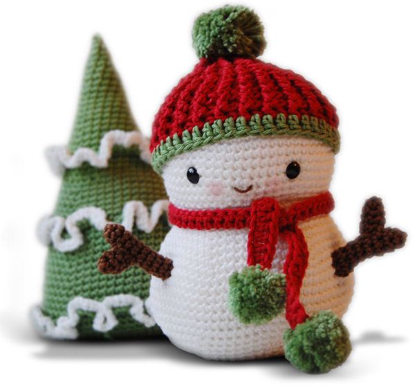 Pepika - Frosty the Snowman and Christmas Tree - Amigurumi ...
