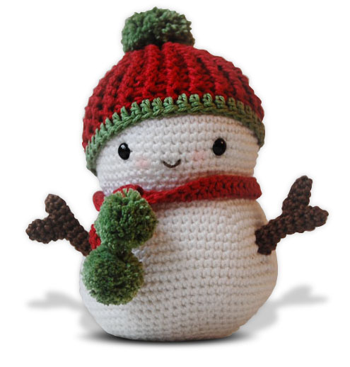 Amigurumi Crochet Snowman : Pepika - Frosty the Snowman and Christmas Tree - Amigurumi ...
