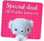 All Pepika Amigurumi Patterns