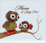 PDF - Amigurumi Mama and Baby Owl Pattern