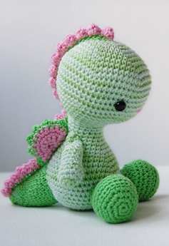 9 Crochet Dragon Patterns -Amigurumi Tips - A More Crafty Life | 345x237