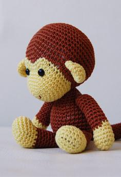 Amigurumi Monkey Free Pattern | 345x236